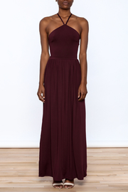 onetheland Purple Maxi Dress - Front cropped