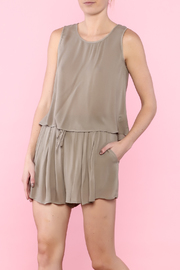 Shoptiques Product: Olive Short Set