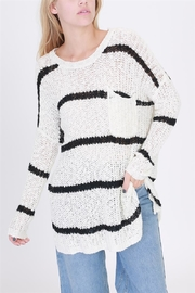 onetheland Stripe Knit Sweater - Product Mini Image