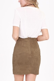 onetheland Tie Mini Skirt - Front full body