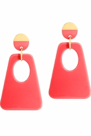 Onjenu Graphic Earrings - Product Mini Image