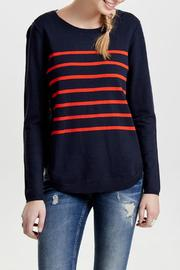 ONLY Stripe Long Sleeve Sweater - Product Mini Image