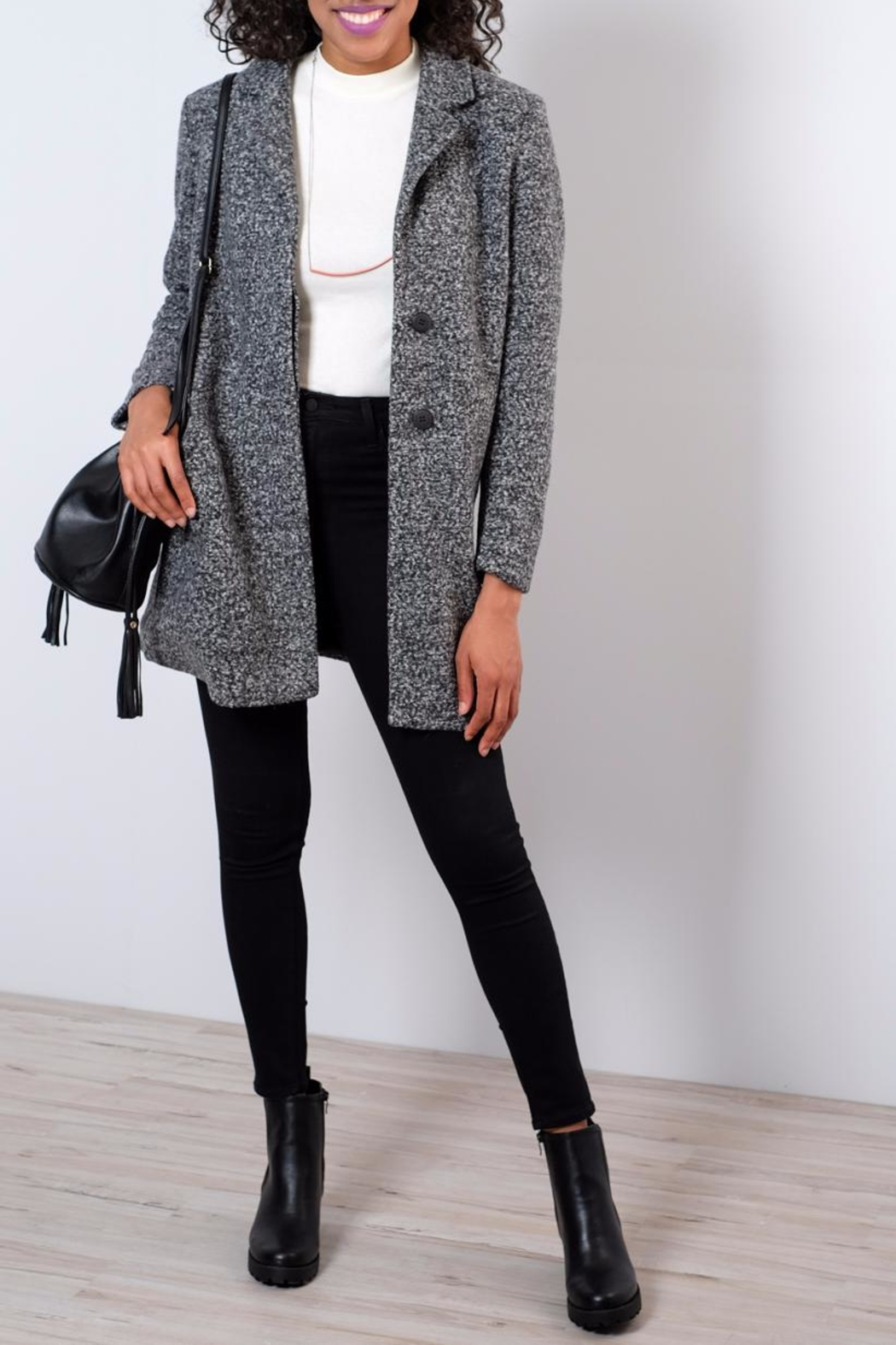 ONLY Arya Classic Coat - Front Cropped Image