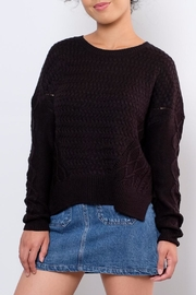 ONLY Cable Knit Sweater - Front full body
