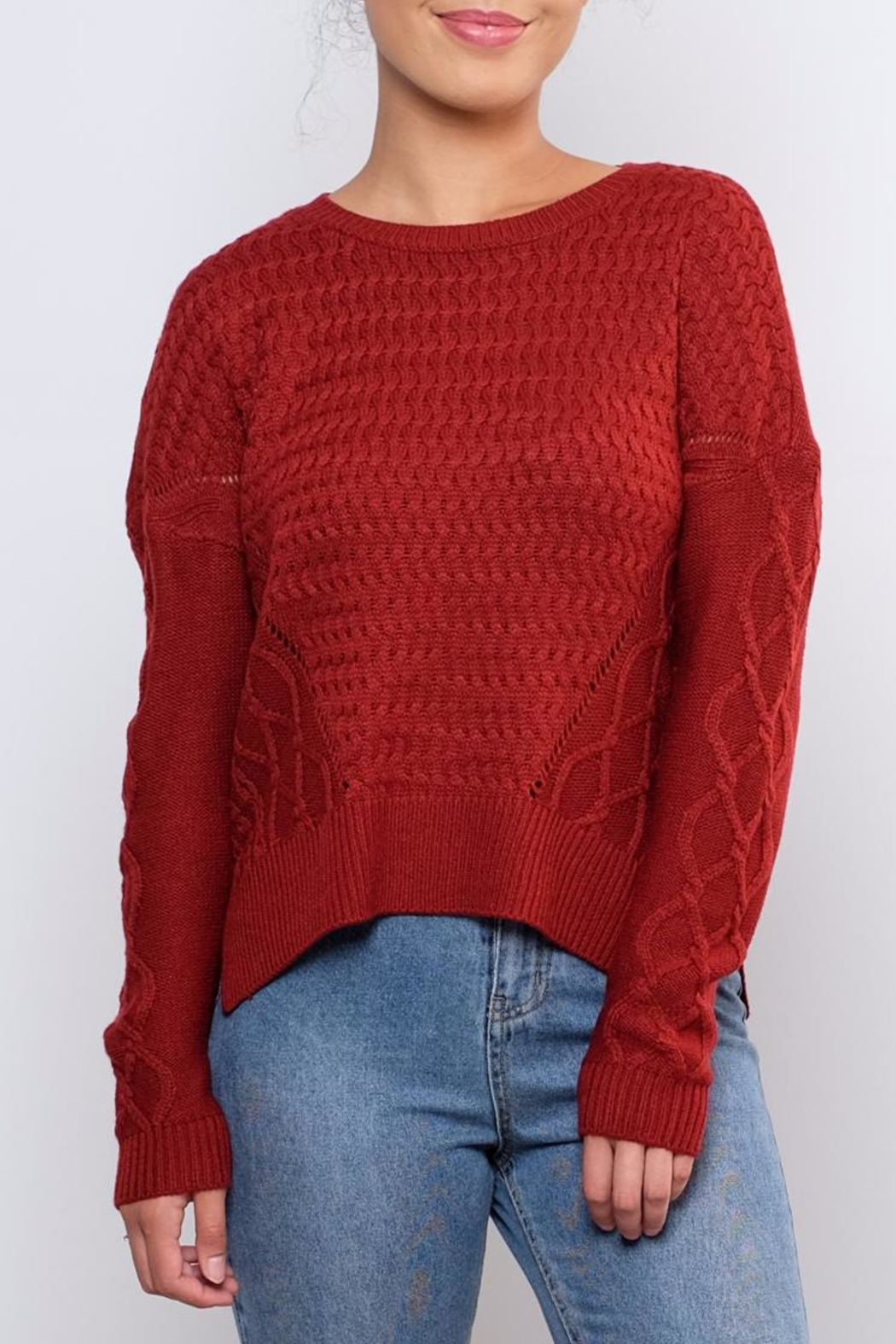 ONLY Cable Knit Sweater - Main Image