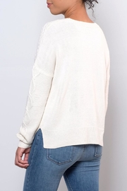 ONLY Cable Knit Sweater - Side cropped