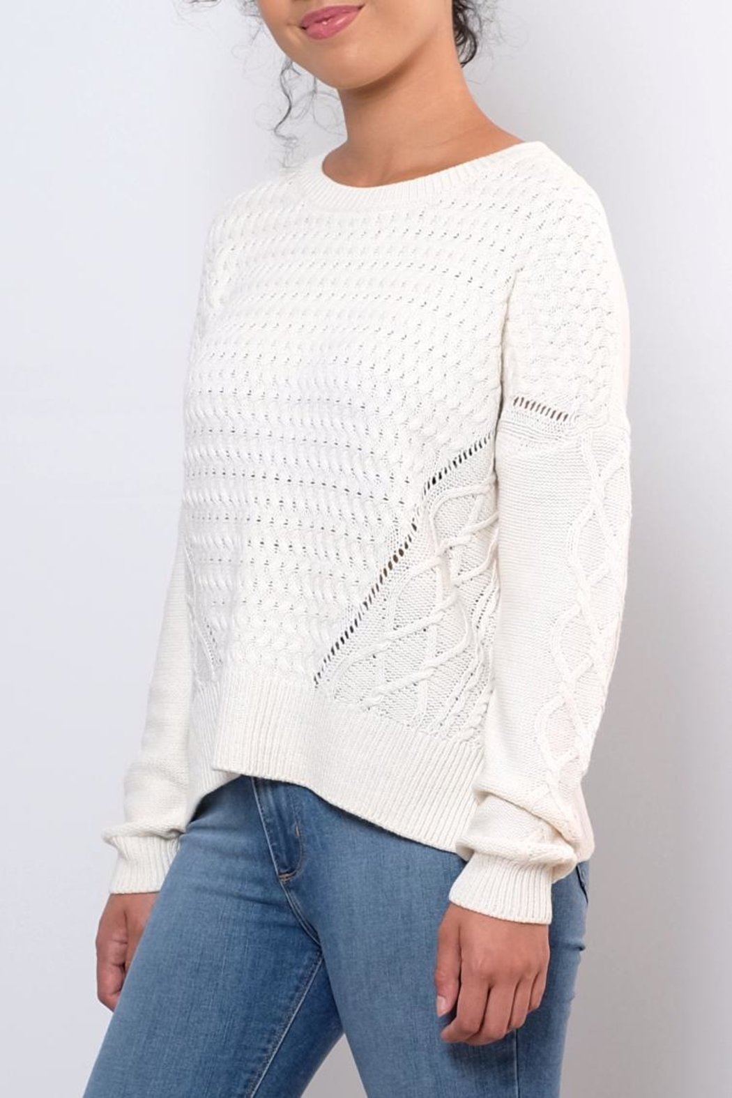 ONLY Cable Knit Sweater - Front Full Image