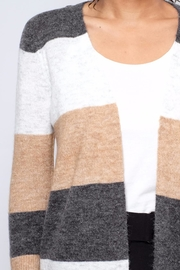 ONLY Colour Blocked Cardigan - Back cropped