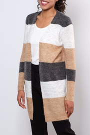 ONLY Colour Blocked Cardigan - Front full body