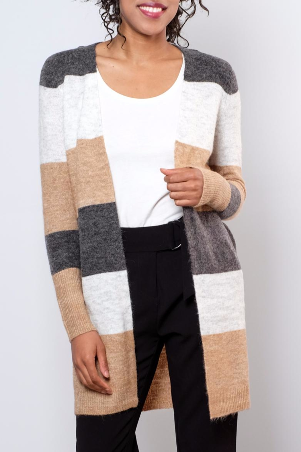 ONLY Colour Blocked Cardigan - Main Image