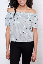 ONLY Crane Off Shoulder Top - Product Mini Image