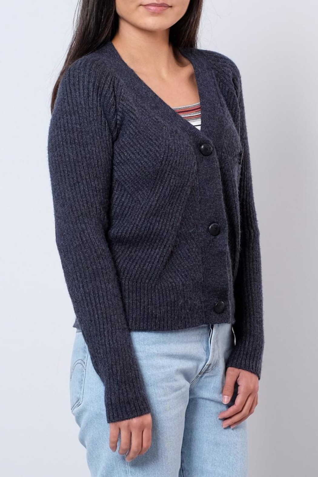 ONLY Cropped Cardigan - Front Full Image