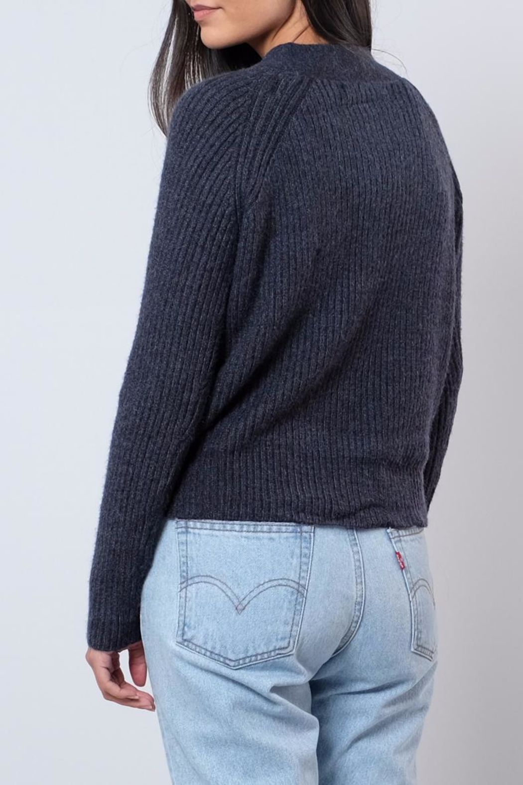 ONLY Cropped Cardigan - Side Cropped Image