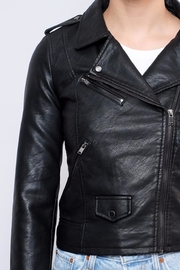 ONLY Cropped Faux Leather Jacket - Other