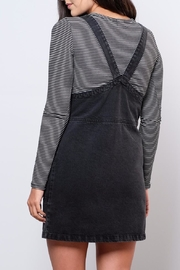 ONLY Denim Overall Dress - Back cropped
