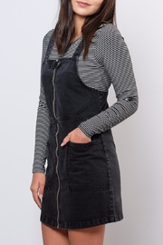 ONLY Denim Overall Dress - Side cropped