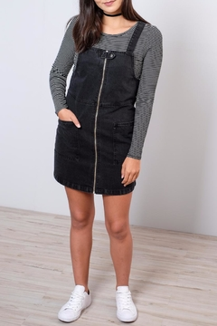 ONLY Denim Overall Dress - Product List Image
