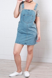 ONLY Denim Overall Dress - Product Mini Image