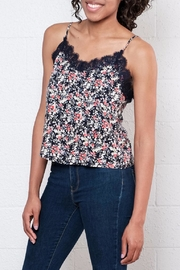 ONLY Floral Cropped Camisole Top - Side cropped
