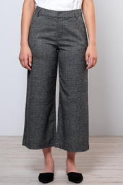 ONLY High Waisted Check Trousers - Front cropped