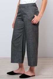 ONLY High Waisted Check Trousers - Front full body
