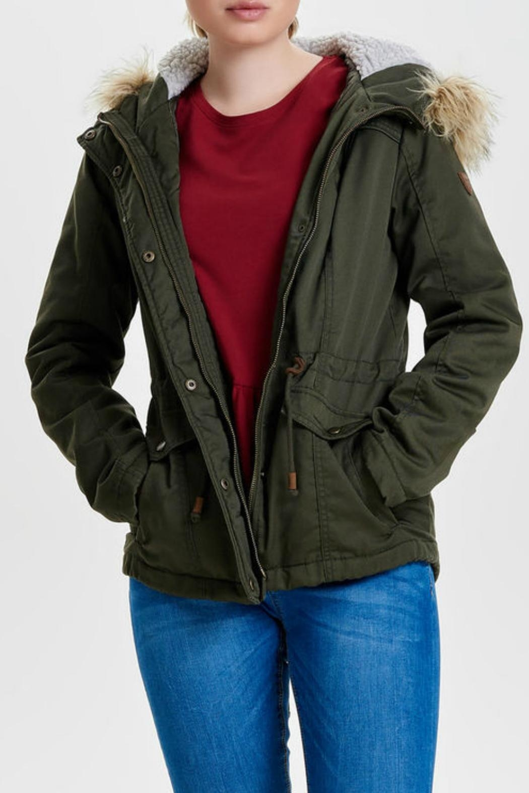 ONLY Kate Canvas Parka - Main Image
