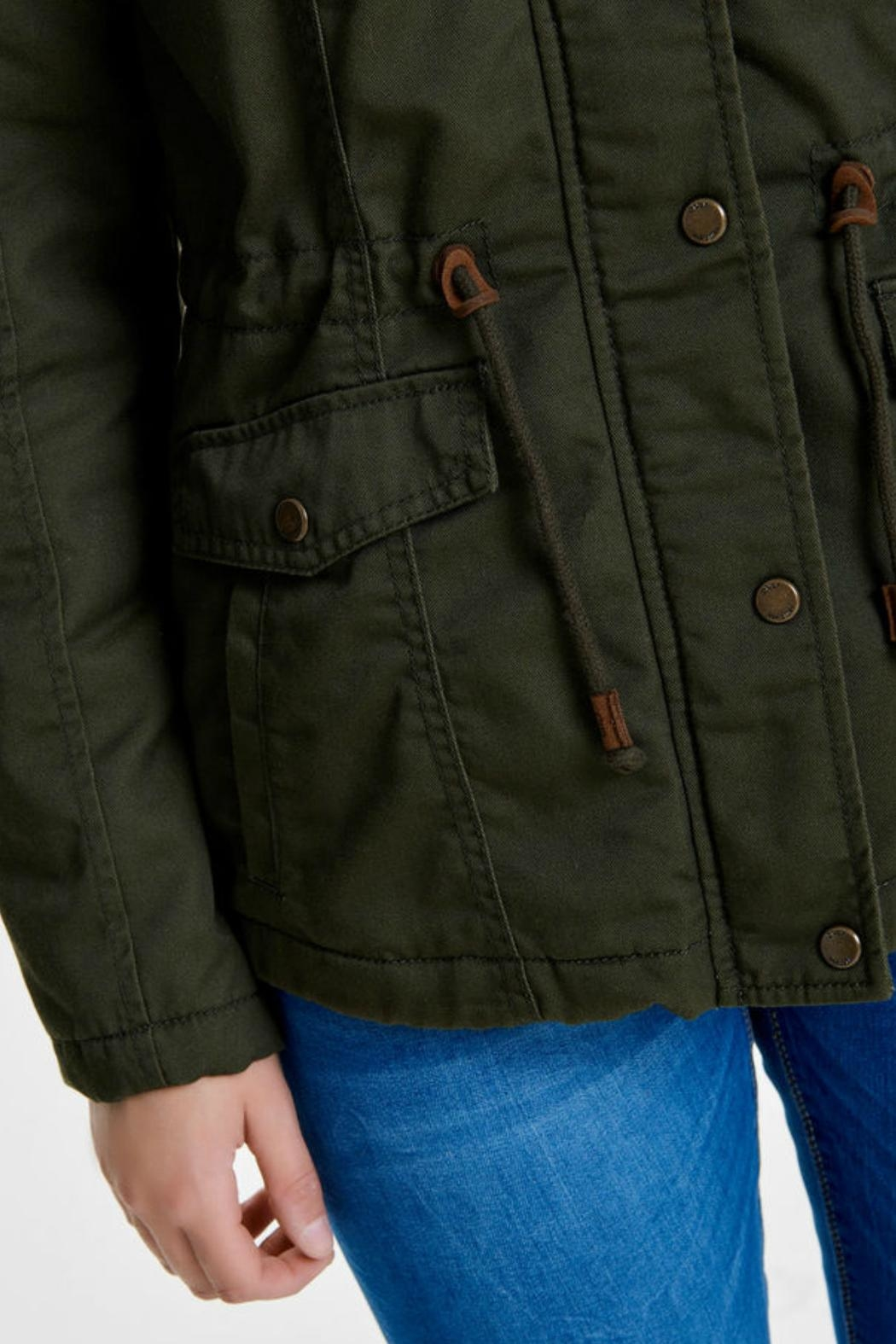 ONLY Kate Canvas Parka - Back Cropped Image