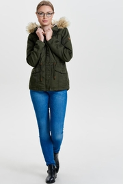 ONLY Kate Canvas Parka - Side cropped