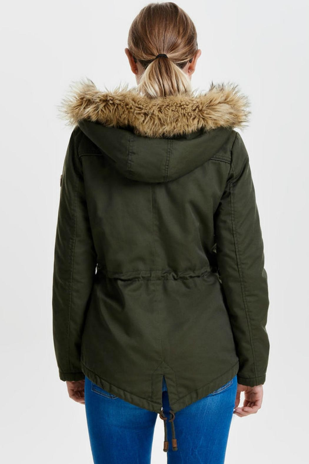 ONLY Kate Canvas Parka - Front Full Image
