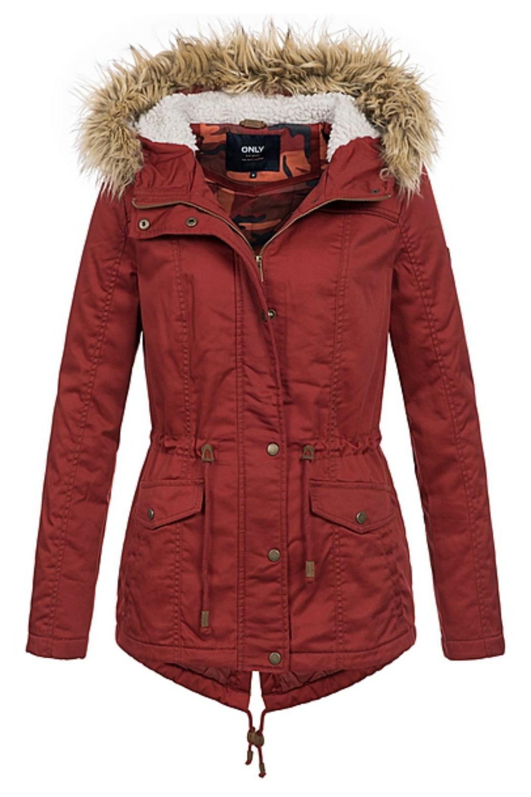 ONLY Kate Canvas Parka - Front Cropped Image