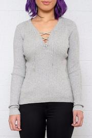 ONLY Lace Up Pullover - Product Mini Image