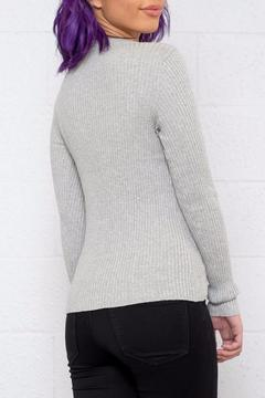 Shoptiques Product: Lace Up Pullover