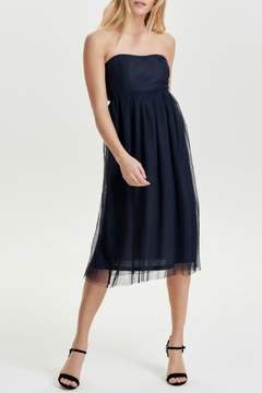 ONLY Maja Strapless Dress - Product List Image