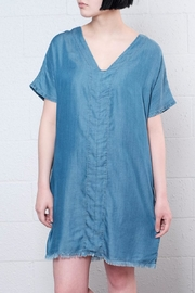 ONLY Raw Hem Denim Dress - Product Mini Image