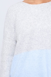 ONLY Ribbed Pullover - Back cropped