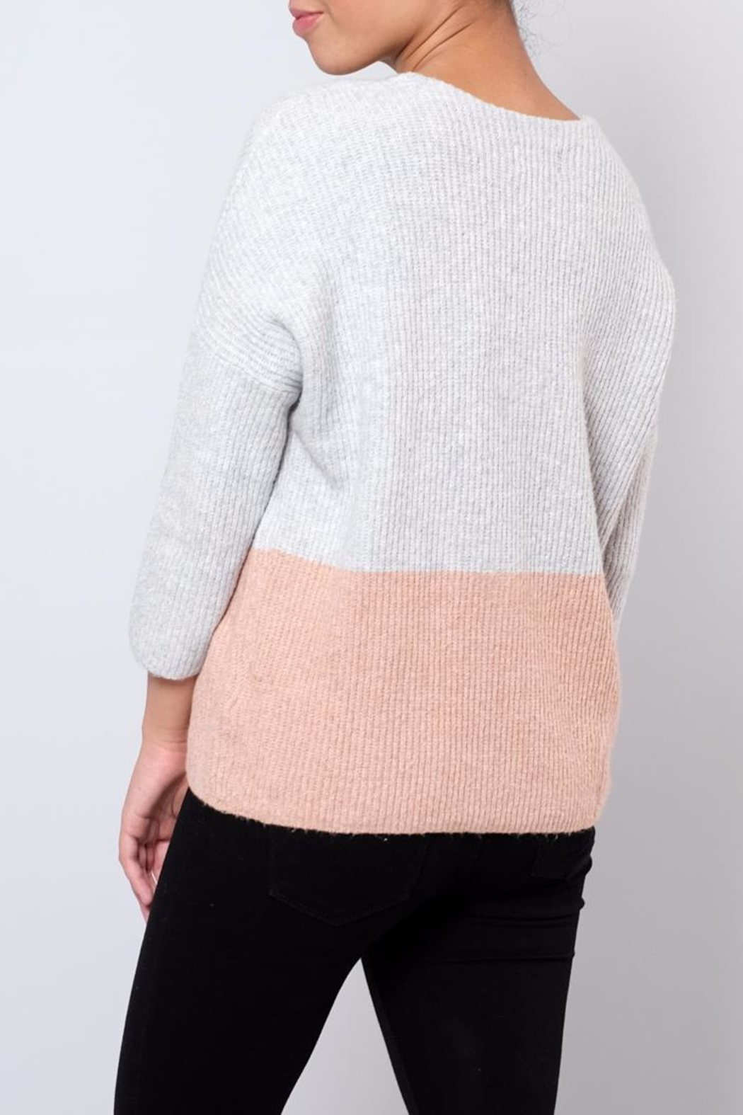 ONLY Ribbed Pullover - Side Cropped Image