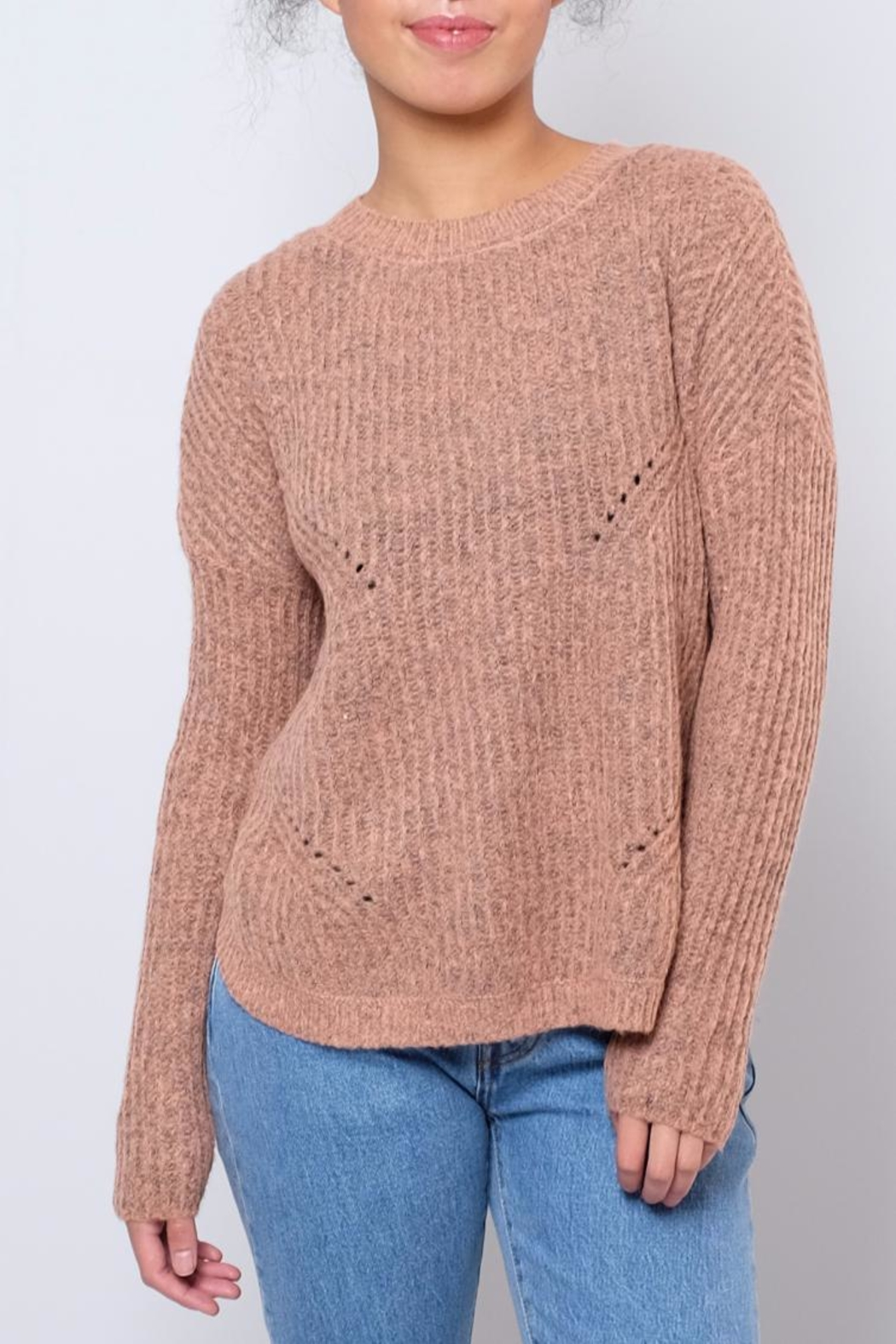 ONLY Rounded Hem Pullover - Main Image
