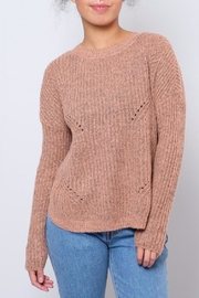 ONLY Rounded Hem Pullover - Front cropped