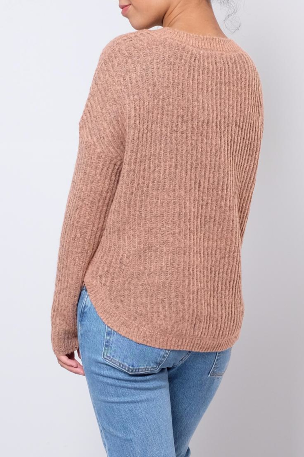 ONLY Rounded Hem Pullover - Side Cropped Image
