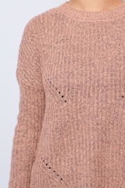 ONLY Rounded Hem Pullover - Back cropped