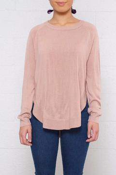 Shoptiques Product: Rounded Hem Pullover
