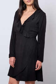 ONLY Ruffled Wrap Dress - Front full body