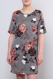 ONLY Satin T Shirt Dress - Front cropped