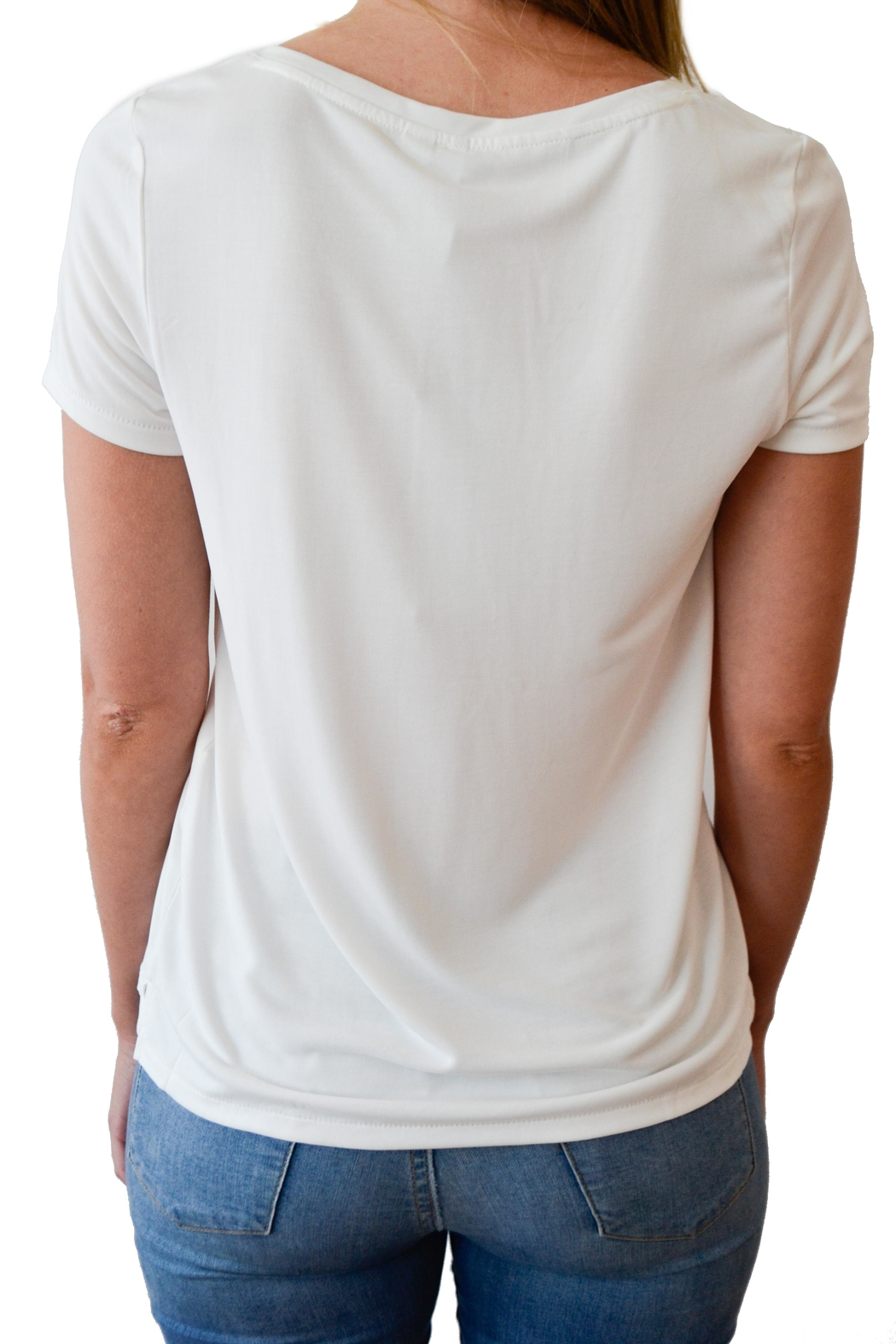ONLY Short Sleeve Tee - Side Cropped Image