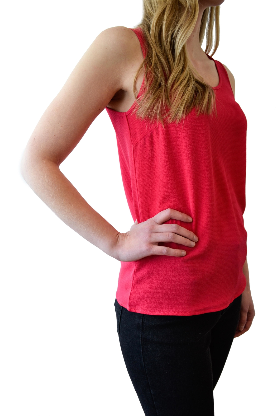 ONLY Sleeveless Crepe Top - Front Full Image
