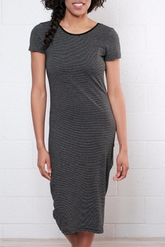 Shoptiques Product: Stripe Calf Length Dress