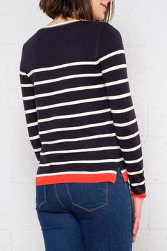 Shoptiques Product: Striped Contrast Pullover