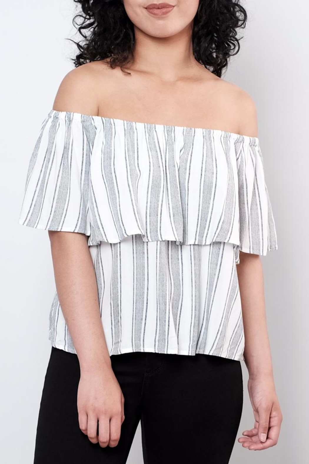 ONLY Striped Top - Main Image