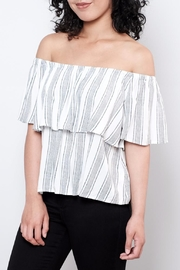 ONLY Striped Top - Front full body