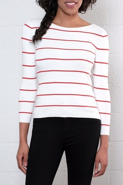 Shoptiques Product: Striped Pullover